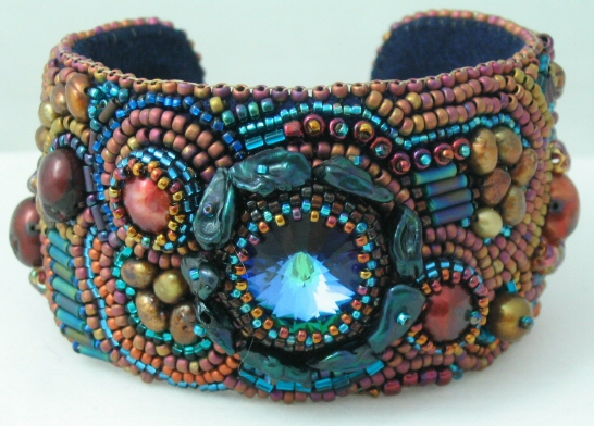 Carmen Cuff :  beads jewelry cuff cuffs