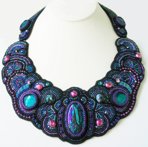 Empress Necklace :  necklace necklaces hand made beading
